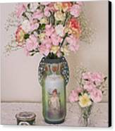 Vases Pink Cast And Trinket Box Canvas Print