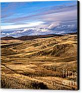 Vast View Of The Rolling Hills Canvas Print by Robert Bales