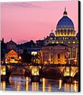 Vatican Twilight Canvas Print by Brian Jannsen