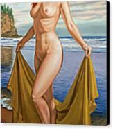 Vaunt At The Beach Canvas Print