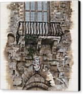Venetian Balcony 02 Elena Yakubovich Canvas Print