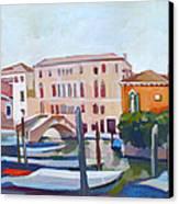 Venetian Cityscape Canvas Print by Filip Mihail