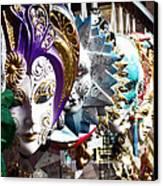 Venetian Masks 1 Canvas Print