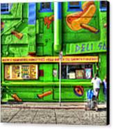 Venice Deli Canvas Print by Kip Krause