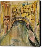 Venice I. Canvas Print by Paula Steffensen