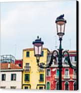 Venice Lamp Canvas Print