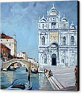 Venice - Scuola Di San Marco Canvas Print