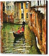Venice View Canvas Print by Cary Shapiro
