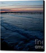 Ventura Pier Sunrise Canvas Print by John Daly