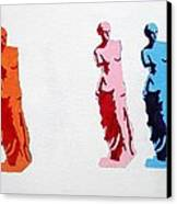 Venus De Milo Statue Canvas Print