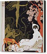 Venus Canvas Print by Georges Barbier
