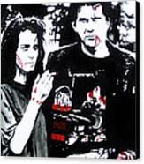 Veronica And J.d. Canvas Print