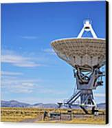Very Large Array - Vla - Radio Telescopes Canvas Print by Christine Till