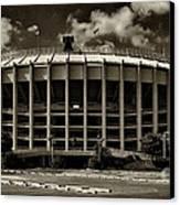 Veterans Stadium 1 Canvas Print by Jack Paolini