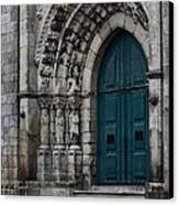 Viana Do Castelo Cathedral Canvas Print by James Brunker