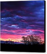 Vibrant Sunrise Canvas Print by Tim Buisman