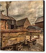 Victorian Colliery Canvas Print by Adrian Evans