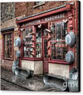 Victorian Hardware Store Canvas Print by Adrian Evans