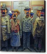 Victorian Musee Mecanique Automated Puppets - San Francisco Canvas Print by Daniel Hagerman