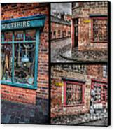 Victorian Shops Canvas Print by Adrian Evans