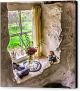 Victorian Window Canvas Print by Adrian Evans