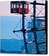 Vienna Ferris Wheel Canvas Print by Viacheslav Savitskiy