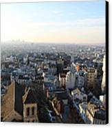 View From Basilica Of The Sacred Heart Of Paris - Sacre Coeur - Paris France - 011320 Canvas Print