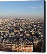 View From Basilica Of The Sacred Heart Of Paris - Sacre Coeur - Paris France - 011330 Canvas Print by DC Photographer
