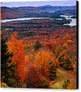View From Mccauley Mountain II Canvas Print by David Patterson