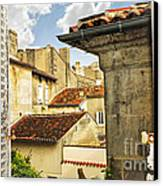 View In Cognac Canvas Print