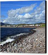 Village By The Sea - County Kerry - Ireland Canvas Print by Aidan Moran
