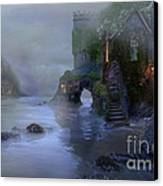 Villages By The Foggy Sea II Canvas Print