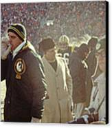 Vince Lombardi On The Sideline Canvas Print by Retro Images Archive