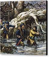 Vincennes: March, 1779 Canvas Print by Granger