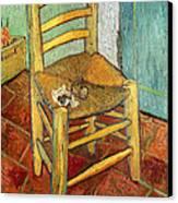 Vincent's Chair 1888 Canvas Print