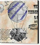 Vindervill 2.0 Canvas Print by Avery Taylor
