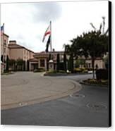 Vineyard Creek Hyatt Hotel Santa Rosa California 5d25789 Canvas Print by Wingsdomain Art and Photography