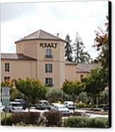 Vineyard Creek Hyatt Hotel Santa Rosa California 5d25866 Canvas Print