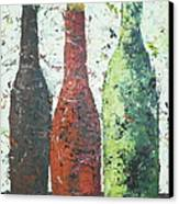 Vino 2 Canvas Print by Phiddy Webb