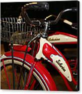 Vintage 1941 Boys And 1946 Girls Bicycle 5d25760 Square Canvas Print