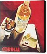 Vintage Campari Canvas Print