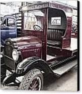 Vintage Chevrolet Pickup Truck Canvas Print by Douglas Barnard