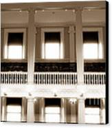 Vintage Faneuil Hall Canvas Print by John Rizzuto