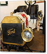 Vintage Ford Model T Racer 5d25613 Canvas Print by Wingsdomain Art and Photography