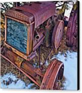 Vintage John Deere Canvas Print by Inge Johnsson