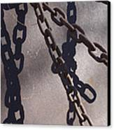 Vintage Metal Chains Canvas Print