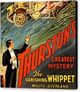 Vintage Nostalgic Poster - 8034 Canvas Print
