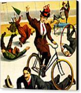 Vintage Nostalgic Poster - 8042 Canvas Print by Wingsdomain Art and Photography