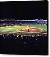Vintage Yankee Stadium  Canvas Print by Retro Images Archive