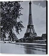 Vintage Paris Canvas Print